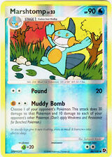 Marshtomp Reverse Holo Uncommon Pokemon Card DP4 Great Encounters 46/106