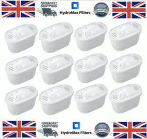 Premium Universal Water Filter Jug Cartridges for All Brita Maxtra/Maxtra +