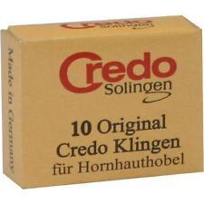 CREDO Ersatzklingen zum Credo Hornhauthobel 4744 10 St PZN 7429195