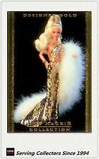 1997 Tempo World Of Barbie Trading Cards Bob Mackie Subset BM2 Designer Gold