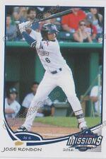 2016 San Antonio Missions Jose Rondon RC Rookie Padres VZ