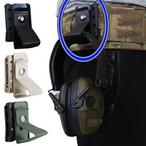 Hang Buckle Hook Clip Clamp For belt MOLLE Girdle Quick release Tactical headset