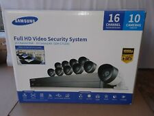 Samsung Full HD Video Security System 16 Channels 10 Cameras (SDH-C75100N)