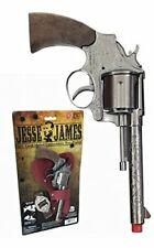 Jesse James Cap Gun Pistol & Holster Set Kid's Toy New Free Shipping Parris Mfg.