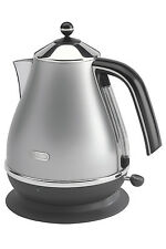NEW Delonghi KBO2001S Icona 1.7 litre Kettle: Silver