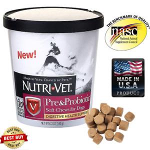 Probiotics for Dogs Eliminates Diarrhea Natural Stomach Gas Relief Senior Dog
