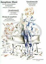 Saxophonmusik (Fur Alt- Oder Tenorsaxophon, Mit Kl ... | Buch | Zustand sehr gut