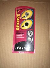 Sony Groove MDR-ED228LP New Old Stock Rare Twin Turbo Fontopid Earphones 1998