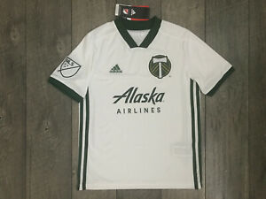 Adidas Portland Timbers MLS Replica Soccer Jersey Youth Boys Girls Small NWT