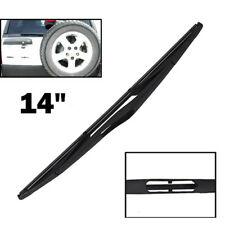 "14"" Rear Windscreen Wiper Blade For Land Rover Freelander Discovery Saab 9-5 9.5"