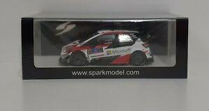 Spark 1/43 Model Car Rally Toyota Yaris WRC Ogier Winner Mexico 2020 Diecast