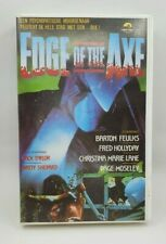 EDGE OF THE AXE VHS BARTON FEULKS PAGE MOSELEY DUTCH IMPORT 1987