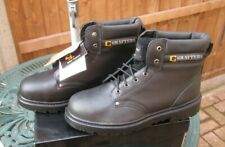 Grafters Steele Toe Safety Boots M629A Black UK 13 Brand New In Box