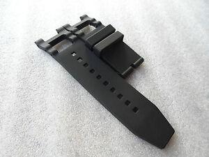 NEW Silicone Rubber Band Strap For Invicta Subaqua Noma III Noma 3 - BLACK- 5514