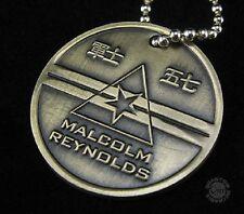 Firefly- Serenity Malcolm Reynolds Dog Tags offizielles Replica Metall Motiv1