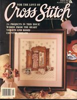 Cross Stitch For The Love Of Magazine 24 Counted Cross Stitch Patterns Projects