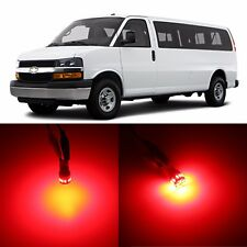 Alla Lighting 3rd Brake Light 912 Red LED Bulbs for 96~17 Chevy Express Colorado