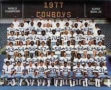 1977 DALLAS COWBOYS 8X10 TEAM PHOTO FOOTBALL NFL PICTURE SUPER BOWL XII CHAMPS