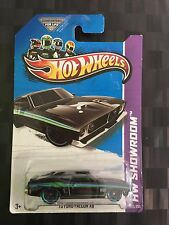 HOTWHEELS 1:64 Diecast Car - '73 XB FORD FALCON COUPE GT351 - Black