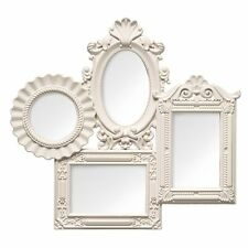 New Modern Stylish Multi Photo Picture Frame Rectangular , Oval , Round Cream