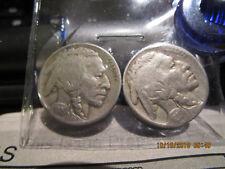 New listing 1924-P/1925-P Buffalo Nickles F +