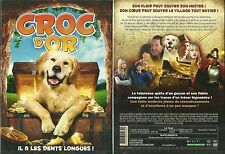 DVD - CROC D' OR ( CHIEN ) avec STEVE GUTTENBERG / NEUF EMBALLE - NEW & SEALED
