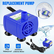 Replacement Water Pump Drinking Fountain Cat Dog Fountain Usb Pump 160l/h Tool