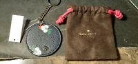 "Kate Spade Floral ""Eva Disk"" Key Chain Key FOB Ring/ Purse Bag Charm -NWT"