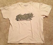 Aeropostale Size L Light Tan Short Sleeve T-Shirt Guys EUC 100% Cotton Large