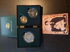 1995 Proof Civil War Battlefield Commemorative Coins $5, Dollar and Half Dollar