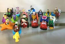 "McDonald's, Burger king, Wendy""s Happy Meal Toys Push and Pull Cars  Lot of 19"