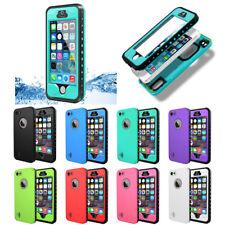 For Apple iPhone SE 5s 5 Waterproof Shockproof Fingerprint Scanner Case Cover