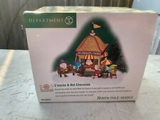 New ListingDept 56 North Pole Village 2002 S'Mores & Hot Chocolate #56835