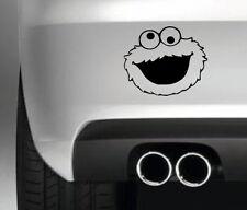 COOKIE MONSTER CAR BUMPER STICKER FUNNY DRIFT JDM MAN TOLIET SIGN