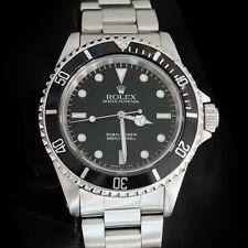 Rolex Uboot Herren Edelstahl Armbanduhr Auster Ehering Kein Datum Sub Schwarz