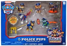 Paw Patrol Ultimate Rescue Police Pups Exclusive Figure 6-Pack