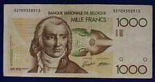 Belgio Belgium Belgie 1000 Francs ND (1980-96) Signature 5 and 14 #B1340