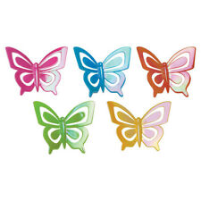 New Iridescent Butterfly Cake Toppers Set of 5
