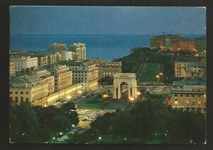 AD7769 Genoa - Città - Piazza Of Victoria at Night