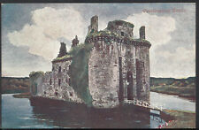 Scotland Postcard - Caerlaverock Castle    RS2711