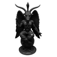 Baphomet Antiquity Figurine By Nemesis Now   Occult   Satan   Goat of Mendes