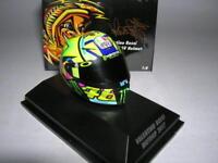 Minichamps AGV Helm Valentino Rossi Moto GP MotoGP 2017, 1:8 #46 Art. 399170046