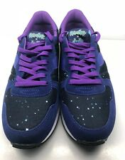 Rick And Morty Shoes Size US 9 Diadora Camaro Intergalactic Purple Mens
