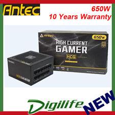 Antec High Current Gamer HCG-650W Gaming PSU 80+ Gold Fully Modular Power Supply
