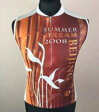 Pearl Izumi Originals Summer Dream BEIJING 2008 Cycling Sleeveless Jersey Men M