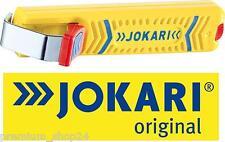 JOKARI Abisolierer Kabel Messer ohne Hakenklinge Entmanteler NO.27 SECURA 28mm