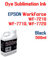 Dye Sublimation Ink Black Epson WorkForce WF-7210 WF-7710 WF-7720 printers