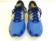 Brooks Adrenaline GTS 14 Running mens Shoes Size 10 Electric Black Silver