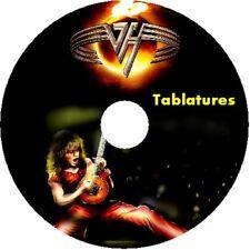 Van Halen Bass & Guitarra ficha CD Tablatura Greatest hits lo mejor de la música rock EE. UU.