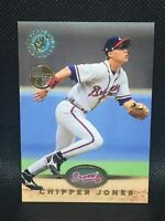 1995 Stadium Club Members Only Parallel 543 Chipper Jones HOF MINT